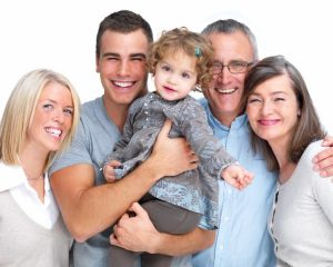 familia numerosa dentista