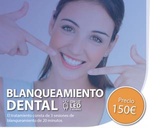 promocion blanqueamiento dental