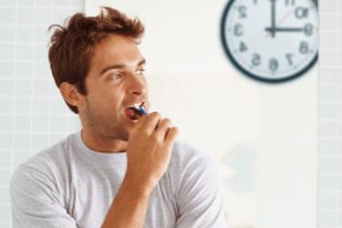 momento de lavarse los dientes